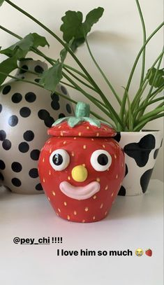 Diy Clay, Clay Crafts, Arts And Crafts, Pottery Painting, Pottery Art, Keramik Design, Clay Art Projects, Cute Clay, Clay Creations