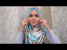 Tutorial Square Hijab - YouTube
