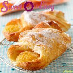 Aprikosen-Croissants - eine fruchtige Variante des französischen Klassikers