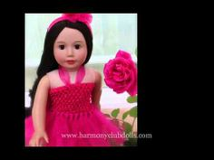 You are so beautiful 18 inch Dolls by Harmony Club Dolls Visit our store at http://www.harmonyclubdolls.com