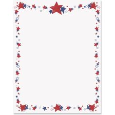 fourth of july borders free