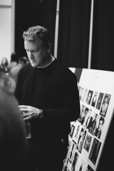 Todd Snyder - Backstage February 12th, 2015