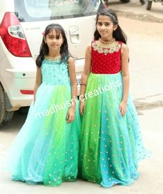 Kids frocks Frocks For Girls, Kids Frocks, Girls Dresses, Prom Dresses, Formal Dresses, Kids Lehenga, Baby Skirt, Indian Outfits, Indian Clothes