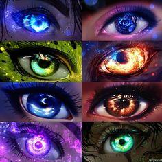 Super ideas for eye drawing fantasy Anime Kunst, Anime Art, Fantasy Kunst, Fantasy Art, Realistic Eye Drawing, Drawing Eyes, Anime Eyes, Manga Eyes, Anime Sketch