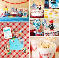 Cute circus theme