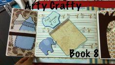 Baby scrapbook For more stuff visit https://www.facebook.com/Artycraftee