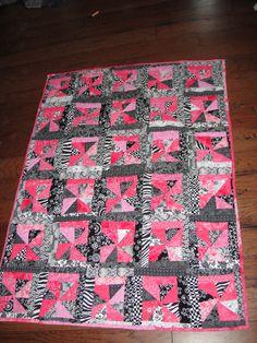 pink ribbon quilt