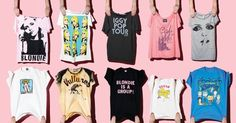 Debbie Harry Explains Her Life in T-Shirts