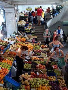 A Cidade Surpreendente: No Mercado do Bolhão Porto