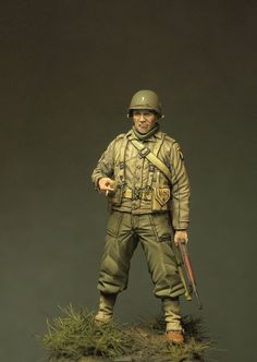 327th GIR, Normandy, France, 1944 1/35 MiNiSoldiers
