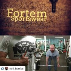 "Instagram photo by Fortem Sportswear  #Repost Don't worry @neil_harries our gear will be on its way to you in time for the ""heatwave"" or week of sun that is usually the British summer!    Cannot wait to see a few pictures of you rocking all of our gear!"