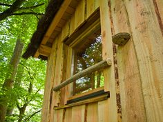 Cabane d'Ysengrin 4pers (2adt+2enf) - Parc de Sainte-Croix