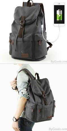 Do you like this Leisure Three Pockets High School Bag Student ...