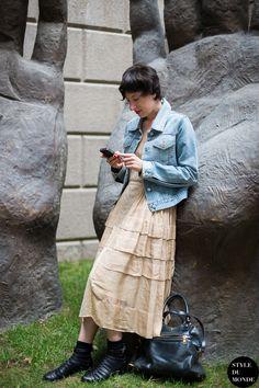 Serena Toffetti Street Style Street Fashion by STYLEDUMONDE Street Style Fashion Blog
