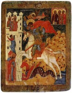 Biblical Art, Medieval Times, Saint George, Orthodox Icons, Serbian, Dark Ages, Byzantine, Romans, Piano Sheet