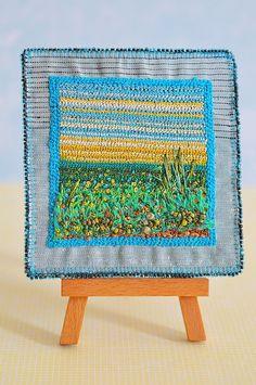 Landscape  sagara  embroidery by moligami on Etsy