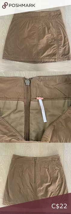 Free People faux leather mini This cute Free People mini has a cute leather look. Has some wear around the zipper & has been dry cleaned. Is six 6, but fits like a 4/6 Free People Skirts Mini Gold Mini Skirt, Lace Mini Skirts, Plaid Mini Skirt, A Line Skirts, Free People Skirt, Free People Jeans, Mustard Skirt, Distressed Jean Skirt