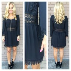 Online Boutique Shopping Little Black Dresses - LBD | Dainty Hooligan Boutique