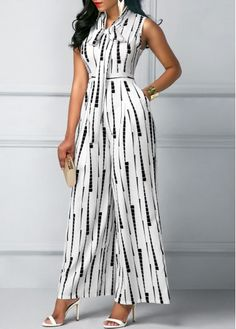 Trendy Jumpsuits Rompers for women on sale African Fashion Dresses, Fashion Outfits, Womens Fashion, Rompers Women, Jumpsuits For Women, Printed Jumpsuit, White Jumpsuit, Trendy Clothes For Women, The Dress