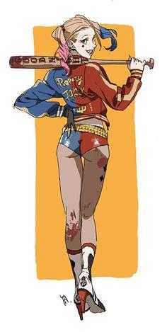 Harley Quinn by Kim Il Kwang *