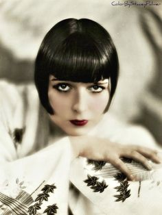 Silent film star Louise Brooks
