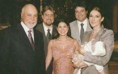 Céline Dion René Angélil et ses enfants