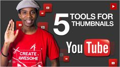 5 Best Tools for Making Custom YouTube Thumbnails - Roberto Blake YouTube