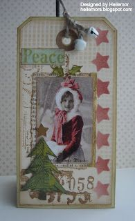 Beautiful tag from Helle