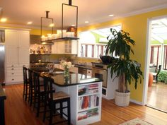 Colorful Kitchen Designs : Rooms : Home & Garden Television#