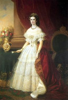 "Portraits of Empress Elisabeth Amalie Eugenie ""Sissi"""