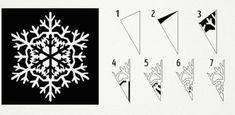 Végy egy papírlapot, ollót és ezt a másolómintát... Biztos vagyok benne, hogy egy órán belül kétségtelenül újévi hangulatod lesz! - Bidista.com - A TippLista! Christmas Colors, Merry Christmas, Christmas Decorations, Christmas Crafts For Toddlers, Toddler Crafts, Diy And Crafts, Arts And Crafts, Paper Crafts, Printable Christmas Coloring Pages