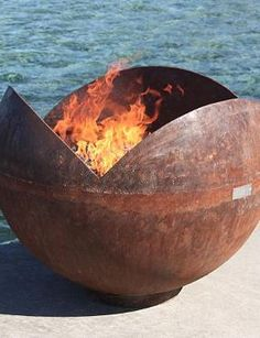 With it's unique design, the Firefly Sculptural Firebowl is a beautiful piece of artwork and a warm place to gather around with your guests.