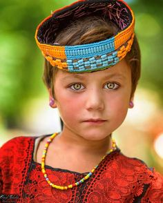 Portrait Of Kalash Photo by Precious Children, Beautiful Children, Beautiful People, We Are The World, People Around The World, Pretty Eyes, Cool Eyes, Lewis Carroll, Kalash People