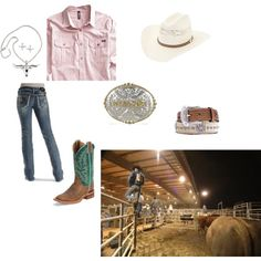"""Rodeo"" by cowgirl14 on Polyvore. Love it."