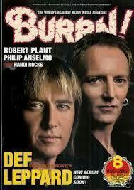 Def Leppard magazine cover