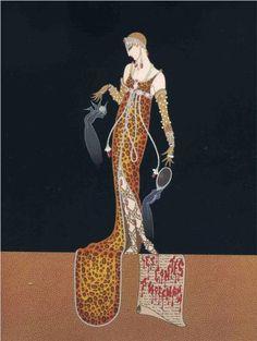 Giulietta, by Erte Style: Art Deco Genre: design