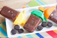 Cookies N' Cream Fudgsicles