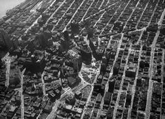 The view from above, (Photo via Virtual Motor City) Detroit Map, Detroit Rock City, Detroit History, Detroit Ruins, State Of Michigan, Detroit Michigan, Birds Eye View, Great Lakes, Aerial View