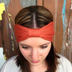 These homemade headbands are the perfect accessory to your outfit.  Comes in different styles and colors, so be sure to check them all out.