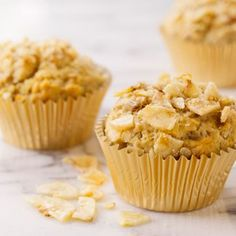 Banana Crunch Muffins — David Venables Recipes — QVC Recipes — Kitchen & Food — QVC.com