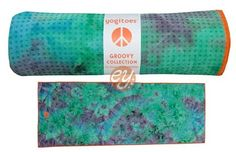 Groovy Tie Dye Collection Skidless Yoga Towell by Yogitoes. Comes in 3 colors choices.