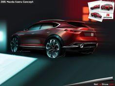Mazda Koeru Concept - Design Sketches - picture #15 of 16, MY 2015, size: 800x600