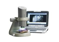 This Kena 3-in-1 Digital Microscope combines the capabilities of a compound microscope, stereoscope and handheld discovery scope in one fun, easy-to-use digital learning tool!