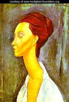 Portrait Of Lunia Czechovska - Amedeo Modigliani - www.modigliani-foundation.org