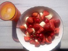 #resalad #fruitsalad #summeringreece