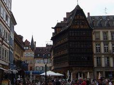 Maison Kammerzell in Strasbourg, #France #hotel #beautifulplaces