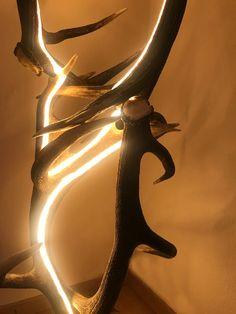 Geweih Design LED Lampe Von Der österreichischen Manufaktur OH MY DEER  Geweih Luster / Geweih Kronleuchter / Geweih Lampen Nach Maß Und Aus Echten  Geweihen ...