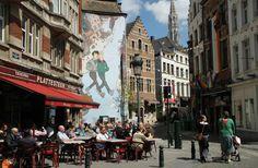 Bruxelas a capital mundial das histórias em quadrinhos