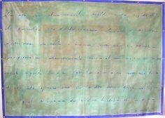 Scripta, acrilico su tela cm.200x140
