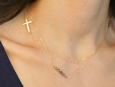 Delicate Layered Spike Necklace Pendant Personalized 18K Gold Filled Long Necklces Colares Longo Feminino Bijoux